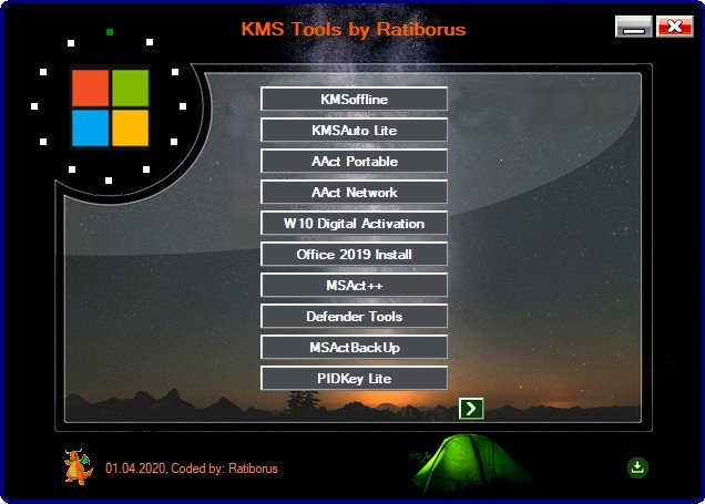 Ratiborus KMS Tools 01.05.2020 Portable | Full İndir