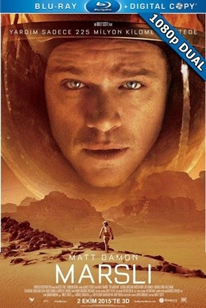 Marslı - The Martian 2015 BluRay 1080p x264 DuaL TR-EN - Tek Link