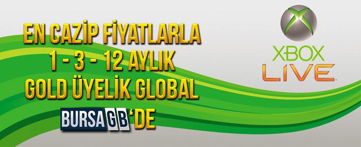 XBOX LIVE En Uygun Fiyatlarla BursaGB de