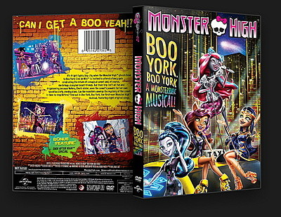 Monster High Boo York, Boo York 2015 DVD-9 DuaL TR-EN – Tek Link