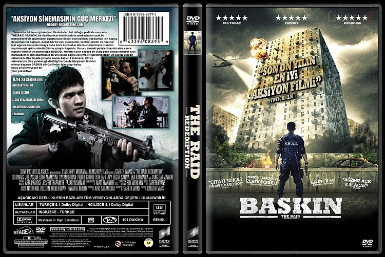 Baskın – The Raid 2011 DVD-9 DuaL TR-EN – Tek Link