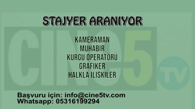 Cine5 Stajyer