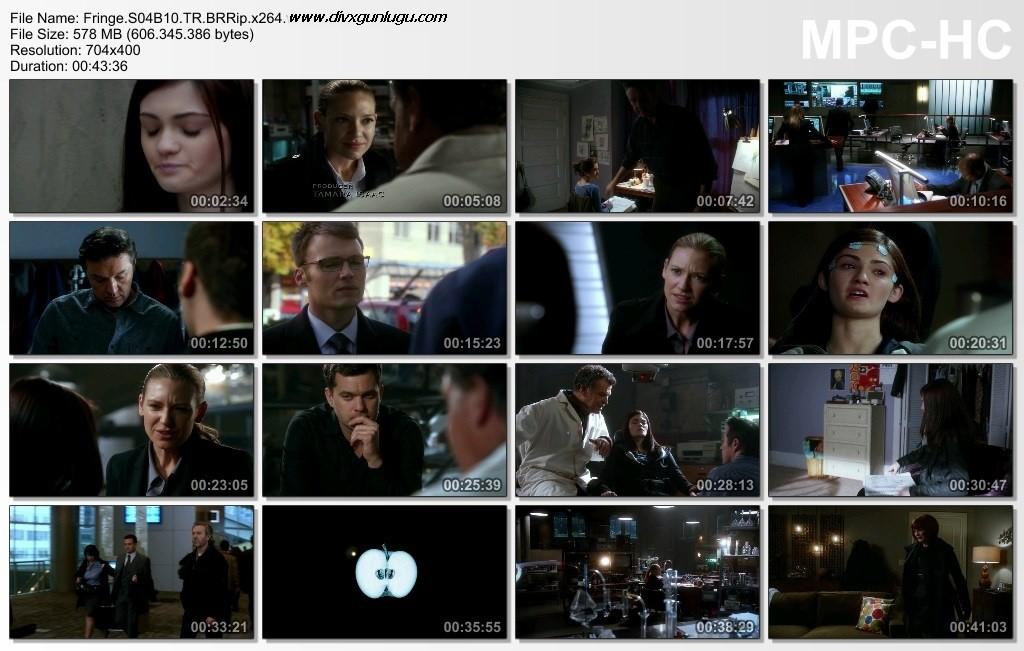 Fringe | 4.Sezon | BRRip x264 | Tüm Bölümler | Türkçe Dublaj - Tek Link