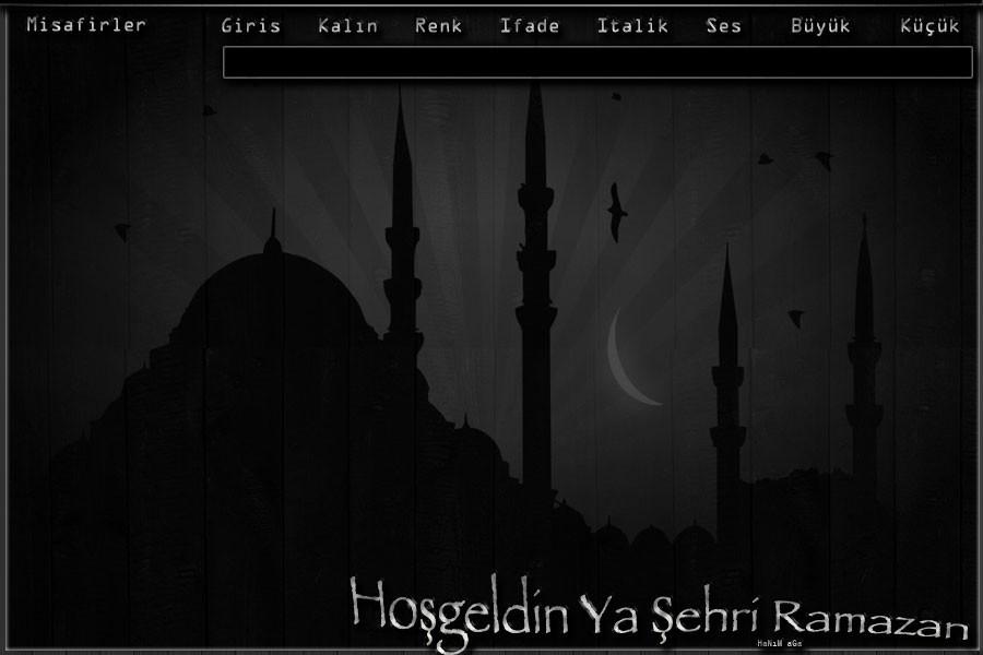 Flatcast Fcp Dini Tema - (Ramazan Özel) 2, Hoşgeldin Ya Şehri Ramazan/Hanımağa