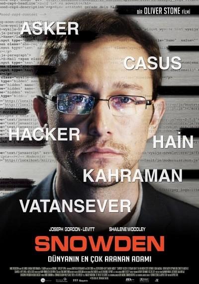 Snowden 2016 (Türkçe Dublaj) BRRip – m1080p – indir