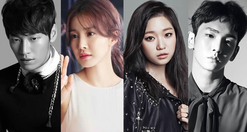 """Kim Young-Kwang, Lee Si-Young ve Kim Seul-Gi """"Lookout"""" Kadrosunda"""