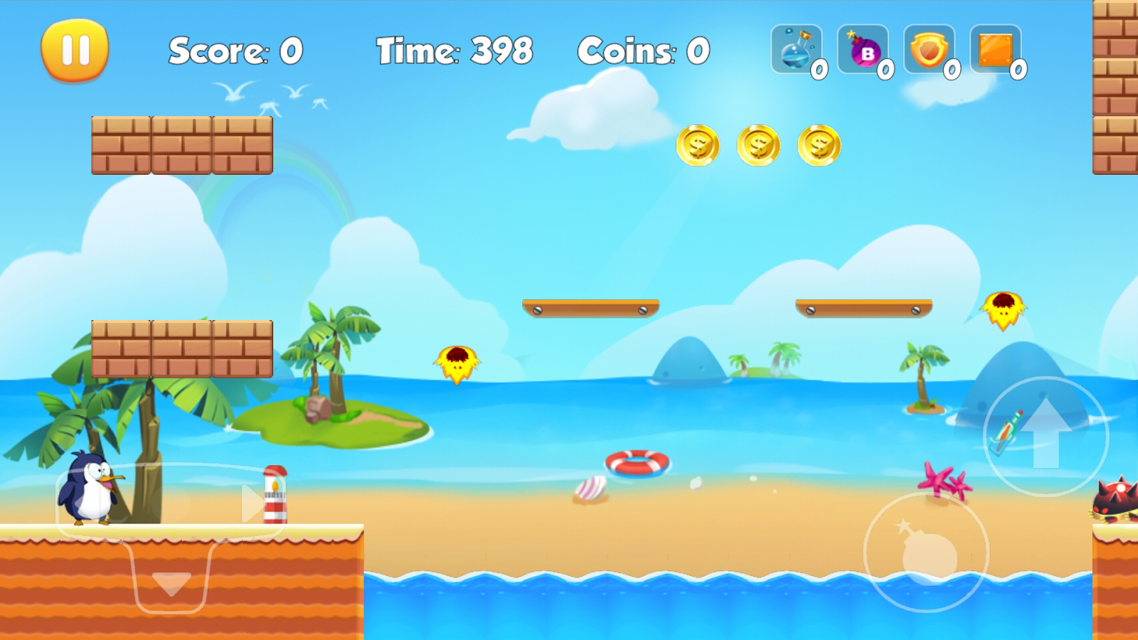Penguin Run Apk İndir