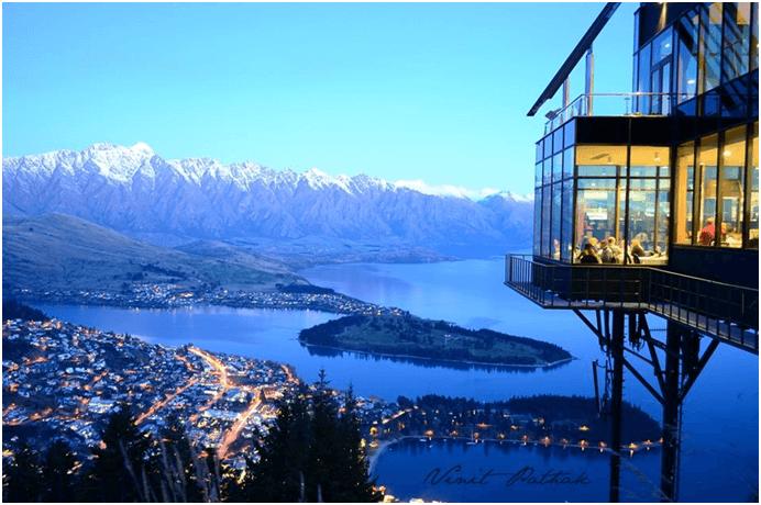 Skyline Restaurant Yeni Zelanda