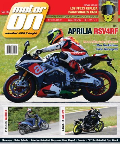 Motoron Mayıs 2016 PDF Dergi İndir