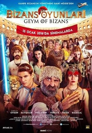 Bizans Oyunları - Geym of Bizans | 2016 | DVDRip XviD | Yerli Film - Tek Link indir