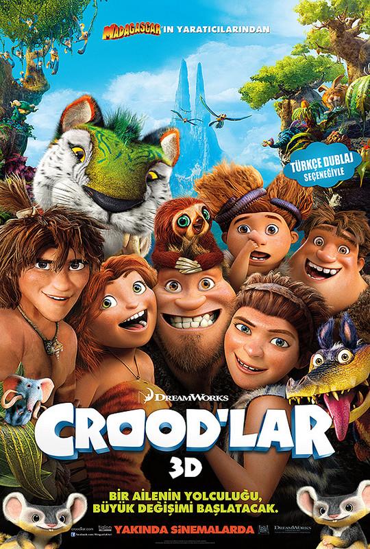 Crood'lar - The Croods (2013) - 3 boyutlu film indir - türkçe dublaj film indir