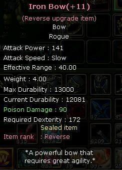 +9 İron bow