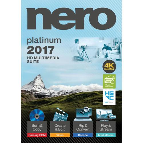 Nero 2017 Platinum 18.0.08500 Full İndir Final Türkçe