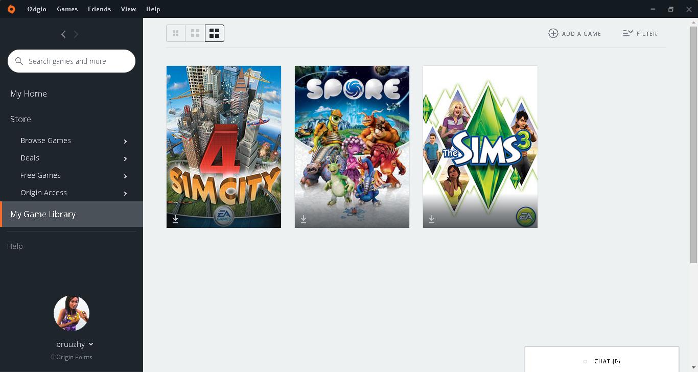 Satılık Origin Hesabı The Sims3+Simcity+Spore