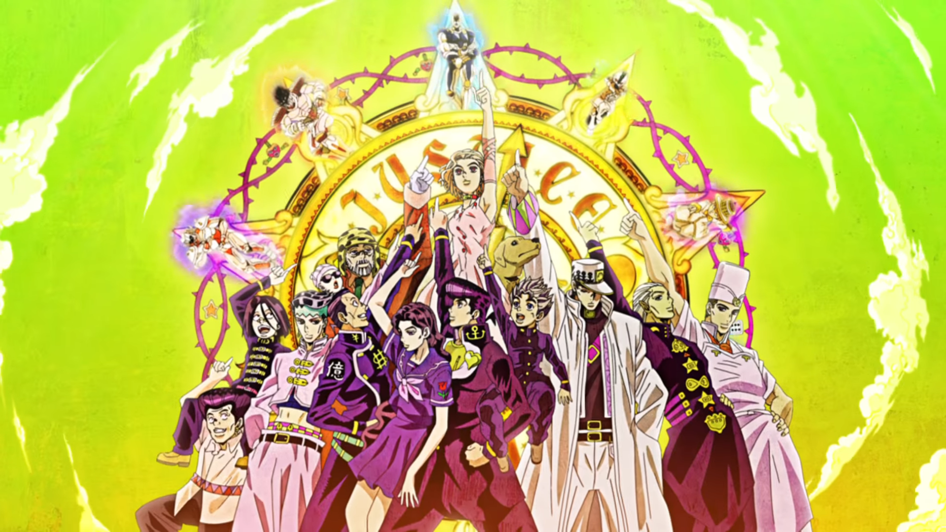 Looking For Great Days Wallpapers Stardustcrusaders