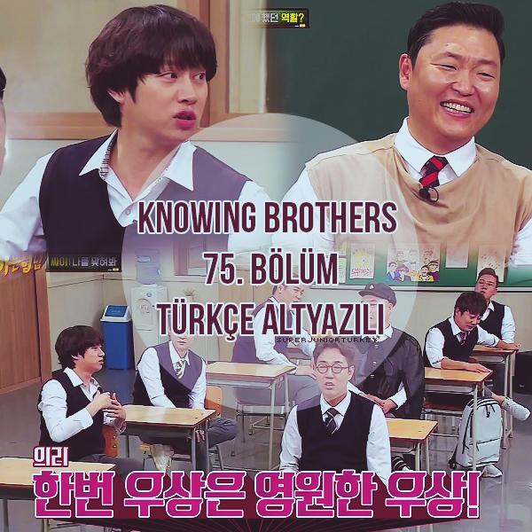 Knowing Brothers 75. Bölüm (PSY) [Türkçe Altyazılı] 6aDyEE