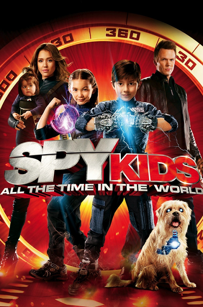 Çılgın Çocuklar 4 Spy Kids 4: All The Time In The World TR 720p HDTV x264 AC3