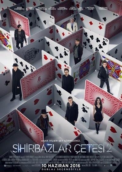 Sihirbazlar Çetesi 2 – Now You See Me 2 2016 BluRay 720p – 1080p DUAL TR-ENG – Tek Link