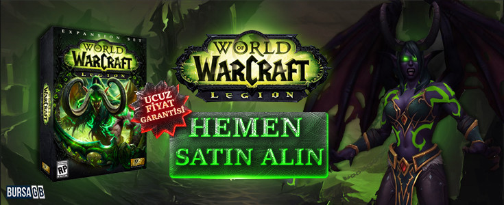 İndirimli World of Warcraft Legion Satın Alın