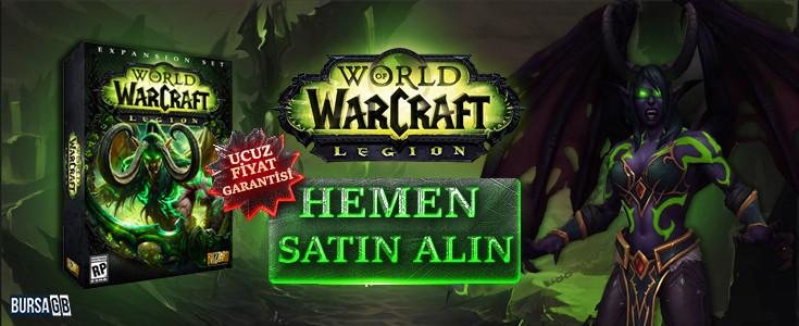 Indirimli World of Warcraft Legion Satin Alin