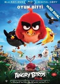 Kızgın Kuşlar m3D – m3D Angry Birds 2016 m3D Half-SBS Mkv DUAL TR-EN – Tek Link