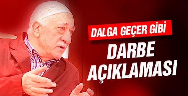 Fethullah Gülen Askeri Darbe Basın Açıklaması