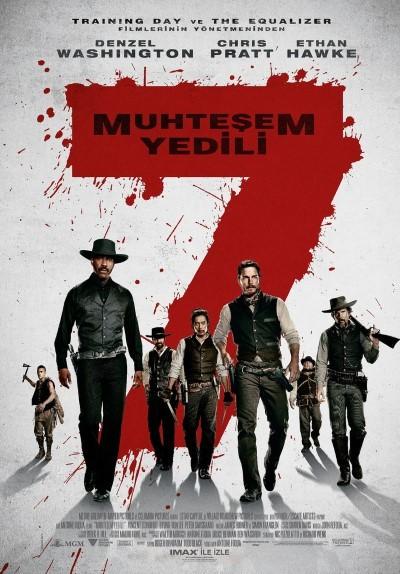 Muhteşem Yedili – The Magnificent Seven (2016) türkçe dublajlı film indir