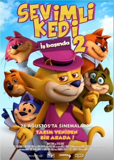 Sevimli Kedi İş Başında 2 - Top Cat Begins (2015) türkçe dublaj film indir