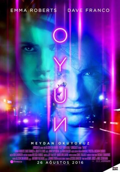 Oyun – Nerve (2016) türkçe dublaj full hd film indir