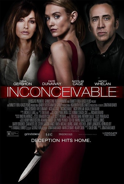 Bakıcı – Inconceivable 2017 ( BRRip – m1080p ) Türkçe Dublaj indir
