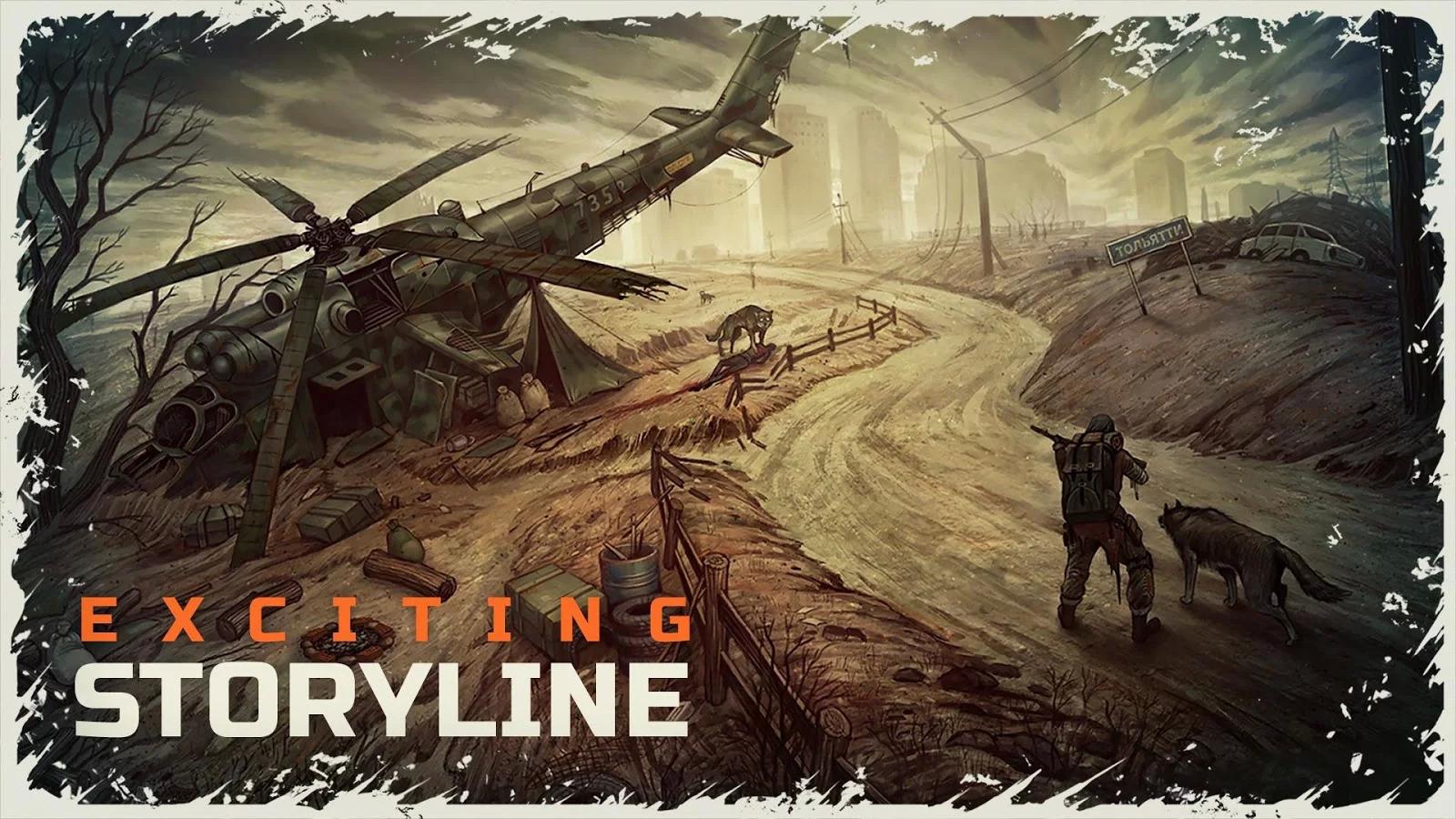 Day R Survival – Apocalypse, Lone Survivor and RPG Apk İndir