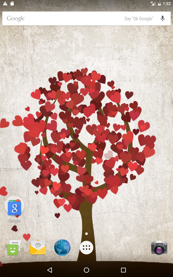 Tree of Love - Valentines day Live wallpaper Apk İndir