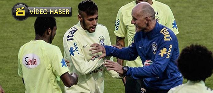 Neymar ve Taffarel şov yaptı!