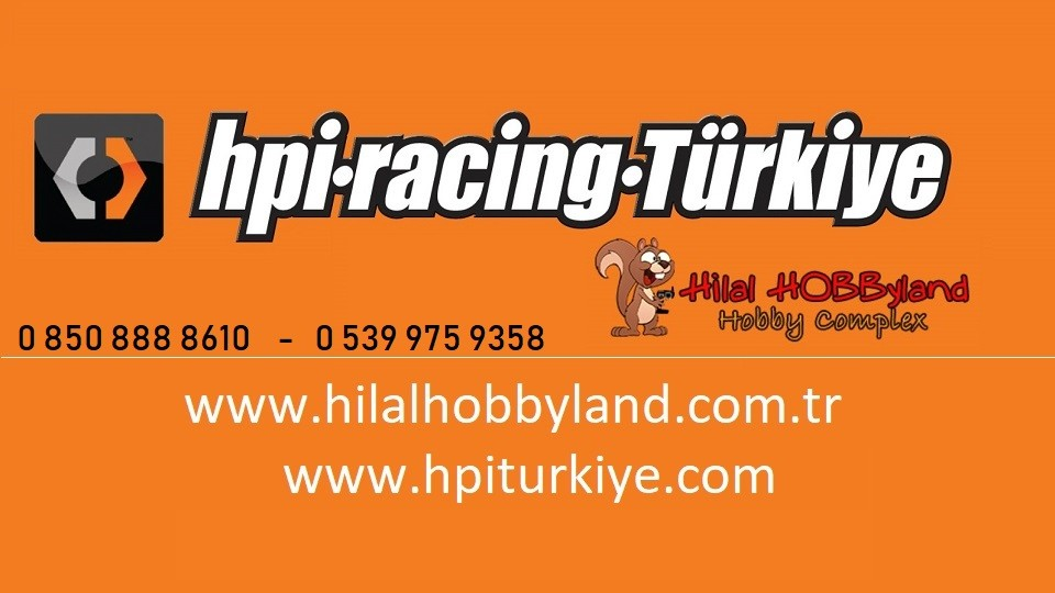 Hilalhobbyland | HPI Türkiye dağıtıcısı oldu !