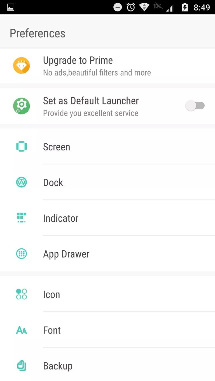 GO Launcher Z ile Yazı Stilini Değiştirme