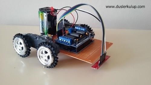 çizgi izleyen robot nasıl yapılır