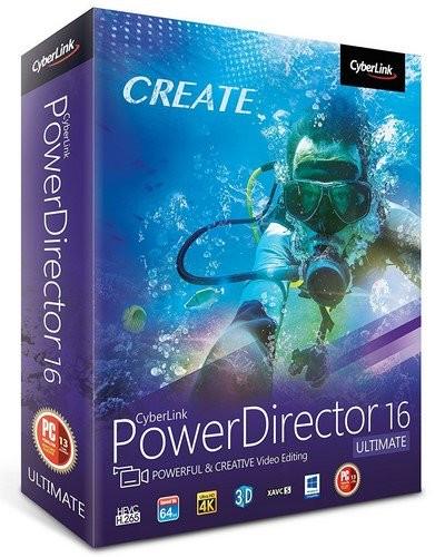 CyberLink PowerDirector Ultimate 16.0.2524.0
