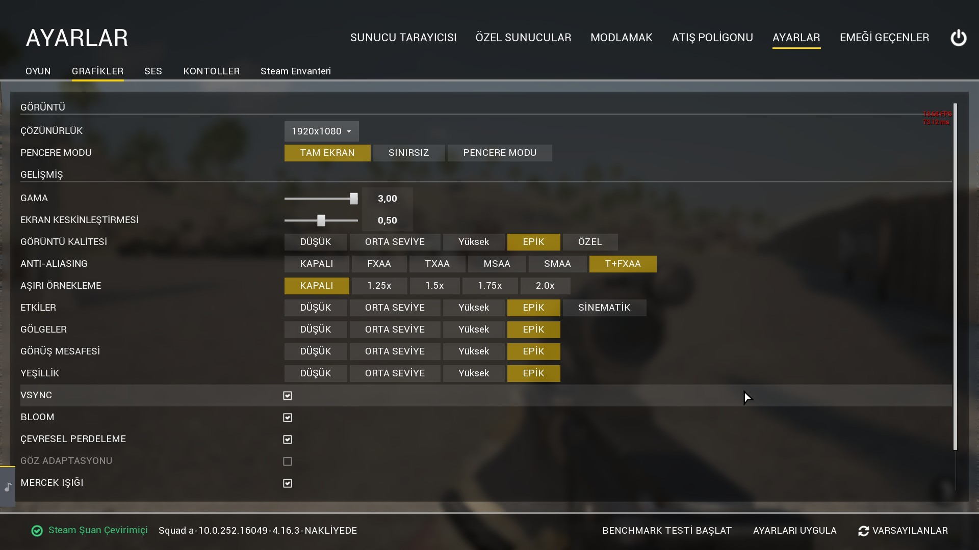 Solved] How to improve my fps pls help ? - Software Support - Squad