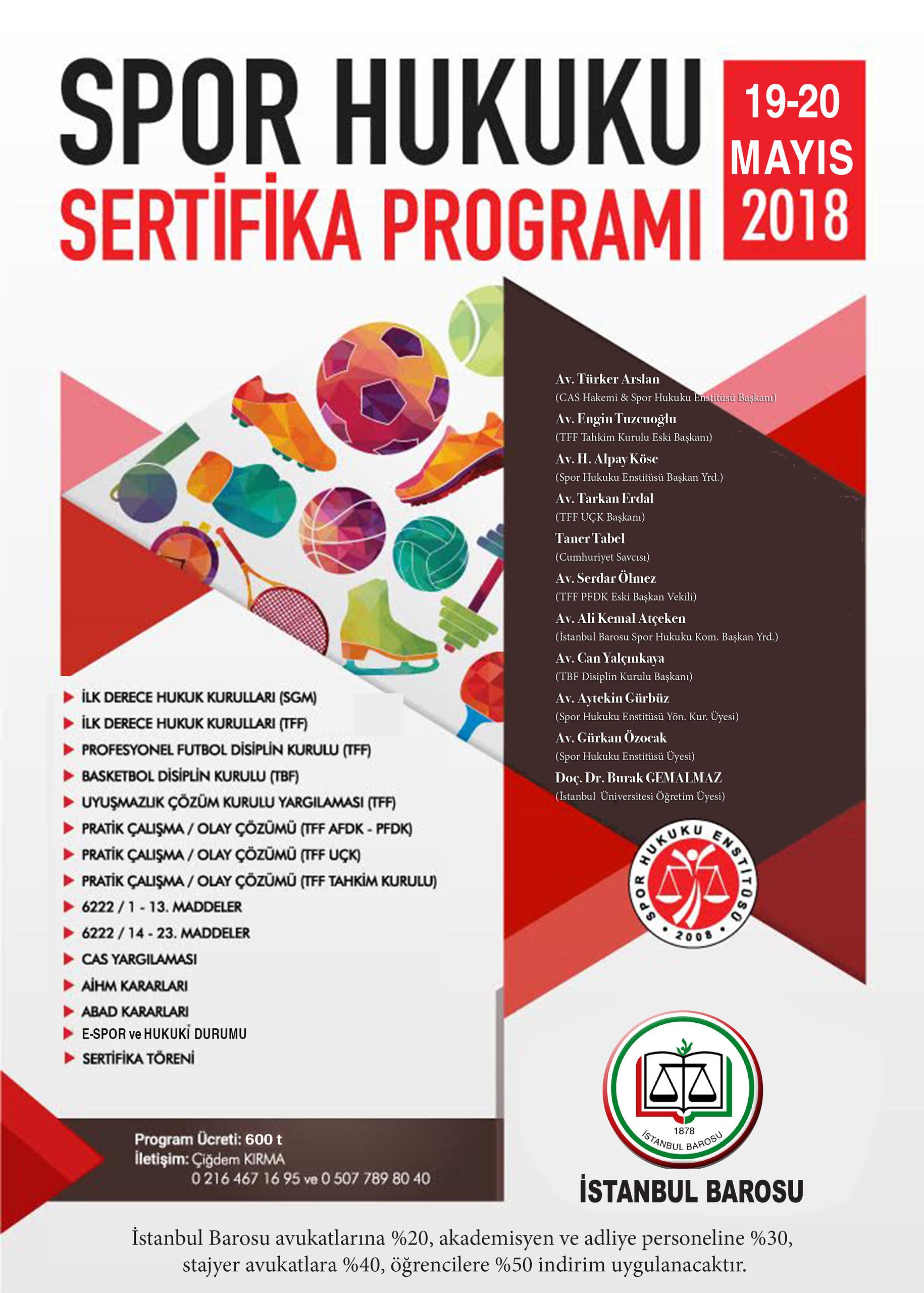 Spor Hukuku Sertifika Programı