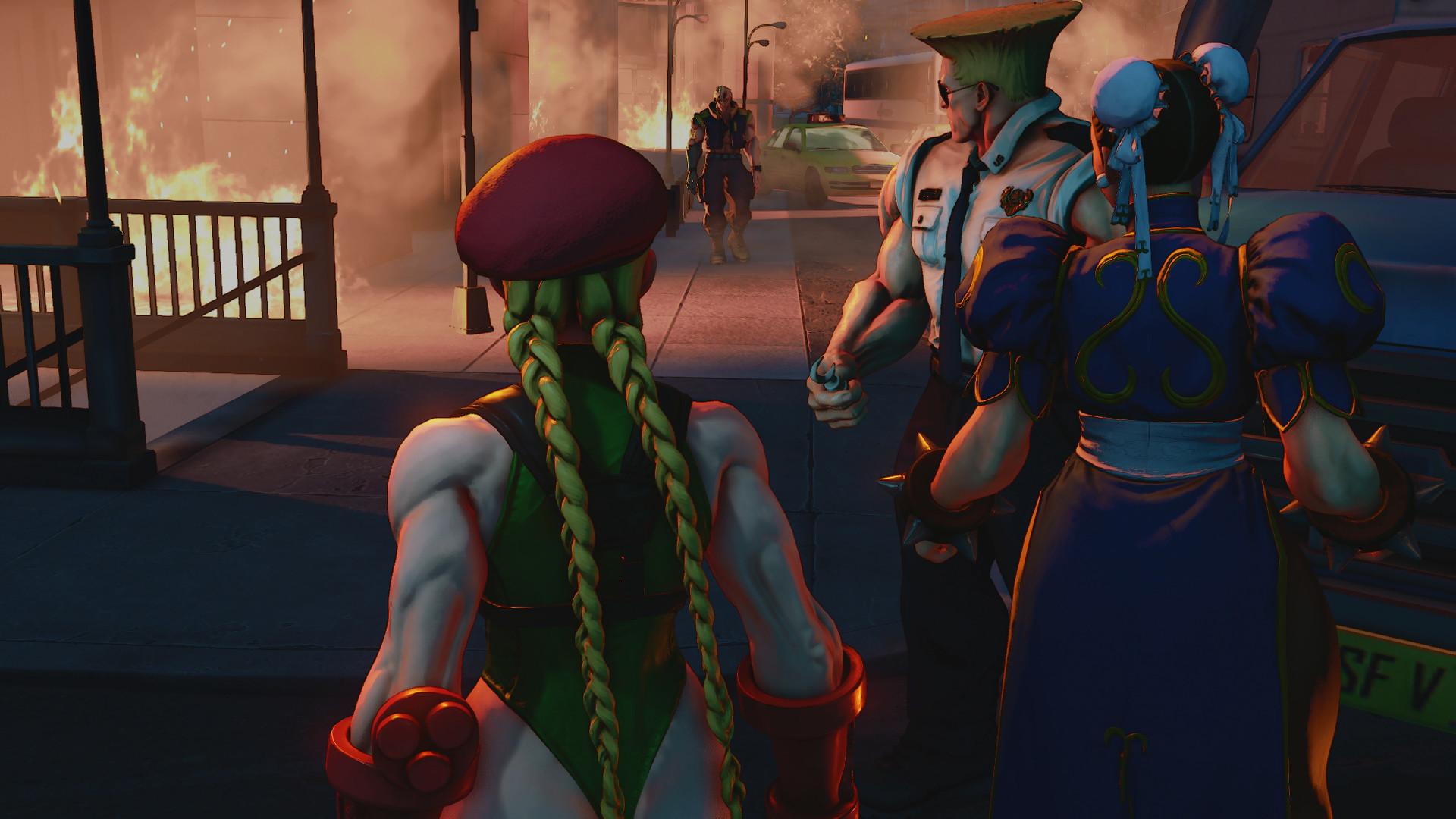 Street Fighter V Arcade Edition - CODEX