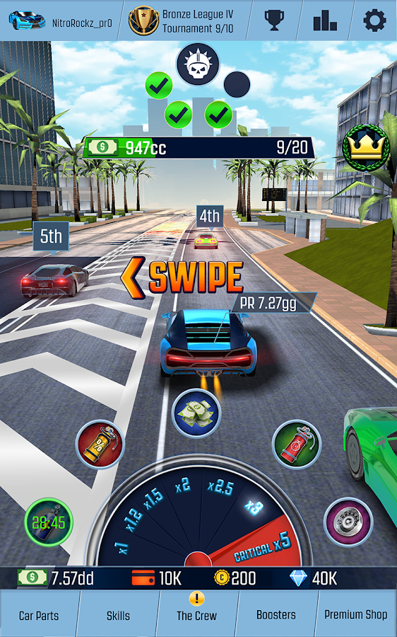 Nitro Racing GO: Idle Driving Clicker Android