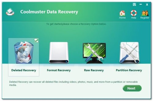 Coolmuster Data Recovery 2.1.15 Multilingual Full İndir