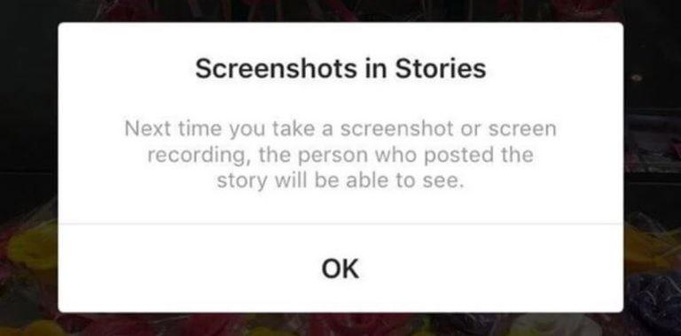 Instagram Ekran Görüntüsü Alanlar Yandı!