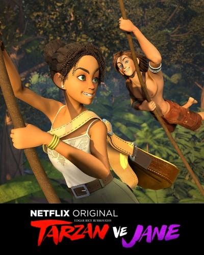 Tarzan ve Jane (2017) Yabancı Animasyon Dizi 1. Sezon Tüm Bölümler türkçe dublaj indir