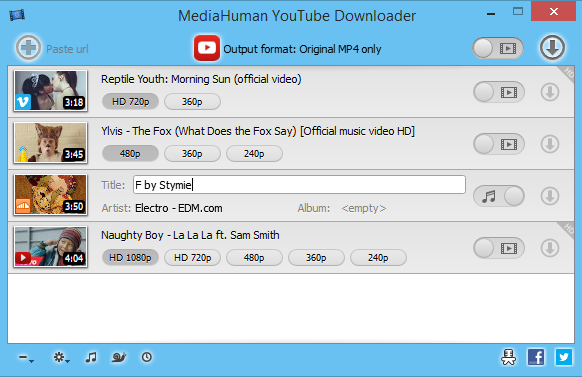 MediaHuman YouTube Downloader 3.9.8.6 (2301) Multilingual