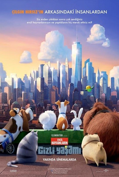 Evcil Hayvanların Gizli Yaşamı 2016 BRRip XViD Türkçe Dublaj – Film indir