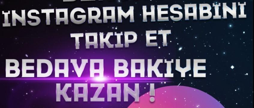 BursaGB İnstagram Hesabını Takip et, Bedava Kodunu Kap !