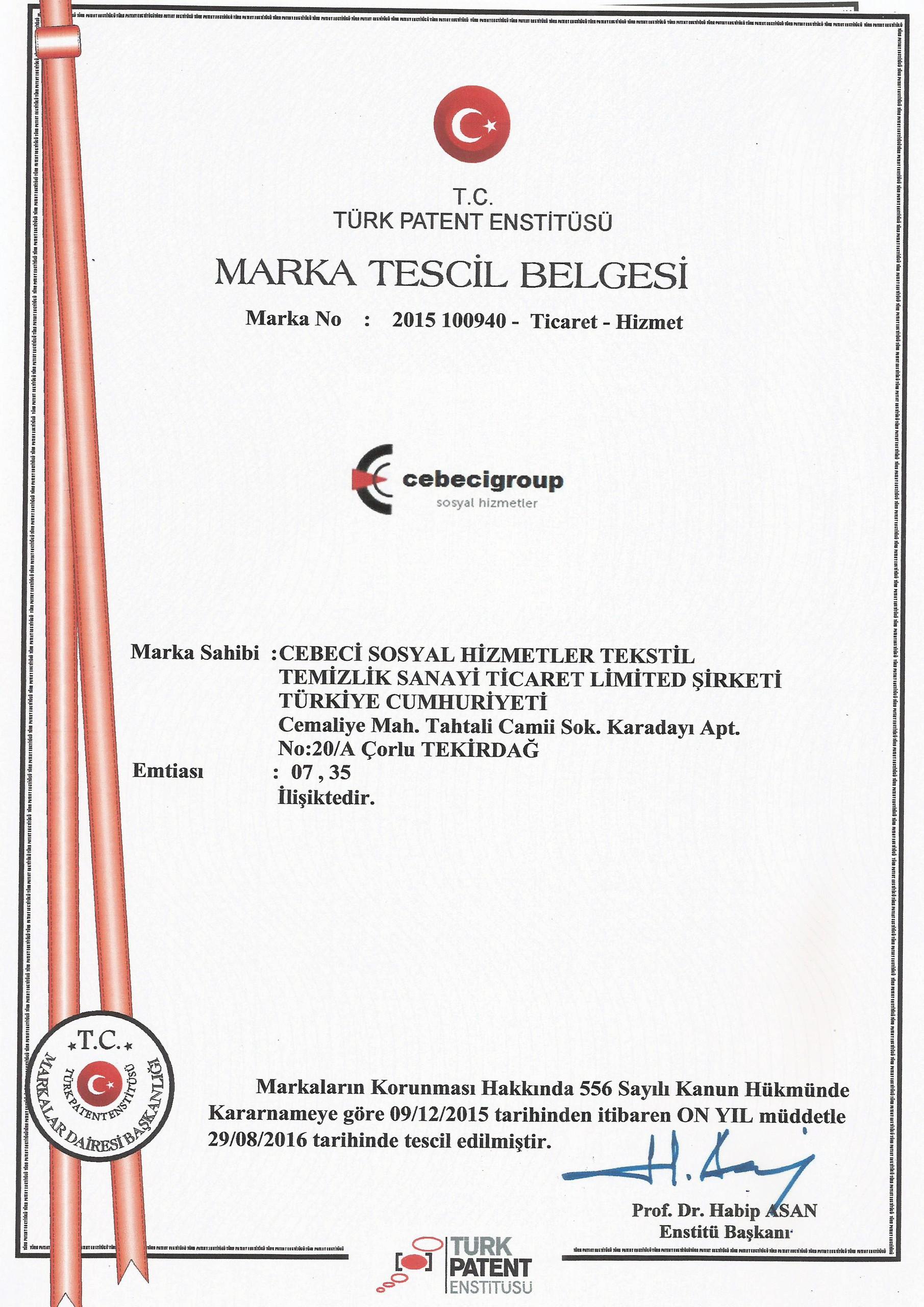 Marka Tescil Cebecigroup