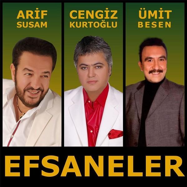 Cengiz Kurtoğlu Ümit Besen ve Arif Susam Efsaneler 2017 full albüm indir