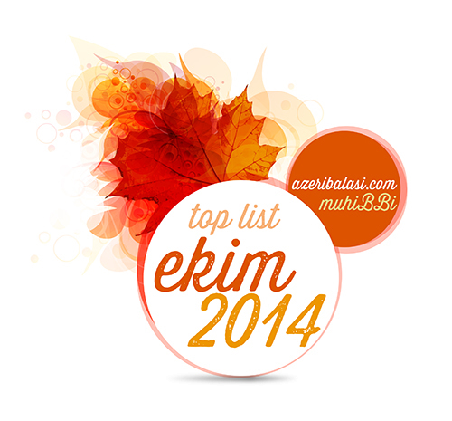 TOP MP3 Ekim 2014